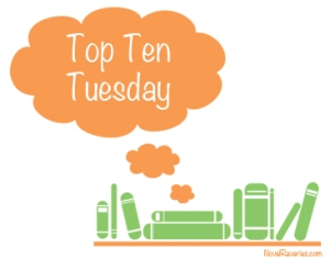Top Ten Tuesday: Books on my Teacher Shelf